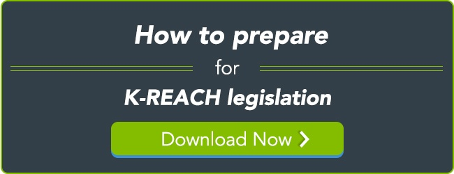 How to prepare for K-REACH legislation
